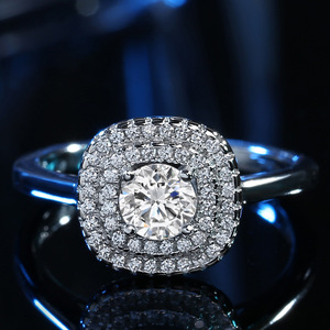 Top quality Solid white gold j