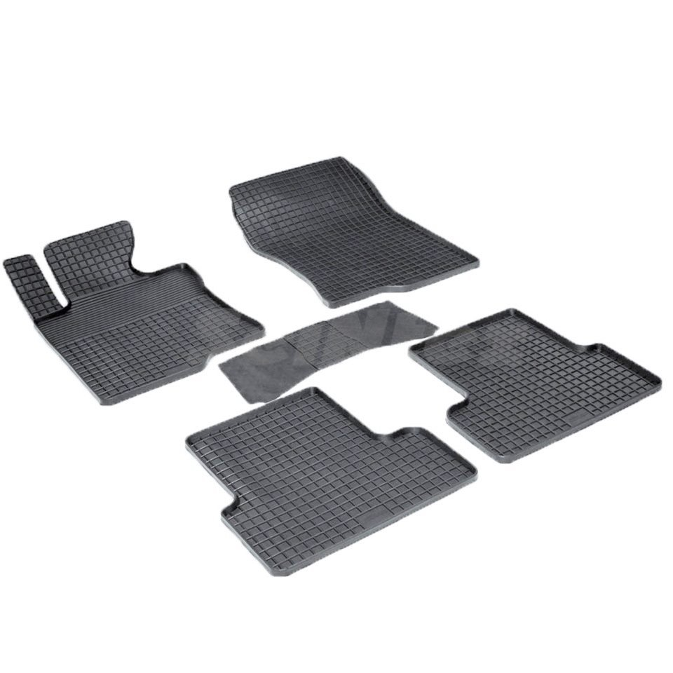 цена на Rubber grid floor mats for Honda Accord VIII 2008 2009 2010 2011 2012 Seintex 00758