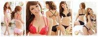 хиты - продавать сексуальные леопард Б / С / D кружка большой размер росту хлопок кофе / синий бюстгальтер для женщин f3t