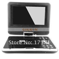"""7.5 """" широкий экран порт и флип портативный проигрыватель DVD с тв-плеер / USB кабель / игры"""