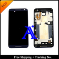 Free Shipping + Tracking No. 100% tested For HTC Desire 610 D610 LCD Touch Screen Assembly with Frame - Black