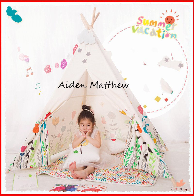 Hot Sale Eco Friendly Tent For Kids Cotton Canvas Toys tent jin ruiguang cut pieces of high speed resin cutting wheel 105 1 16 dual wholesale