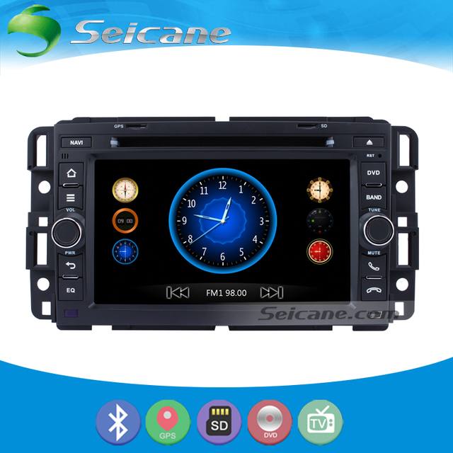 Seicane Aftermarket Dvd Player Gps Navigation System For 2007 2017 Chevy Chevrolet Tahoe Suburban Express Van Support Radio