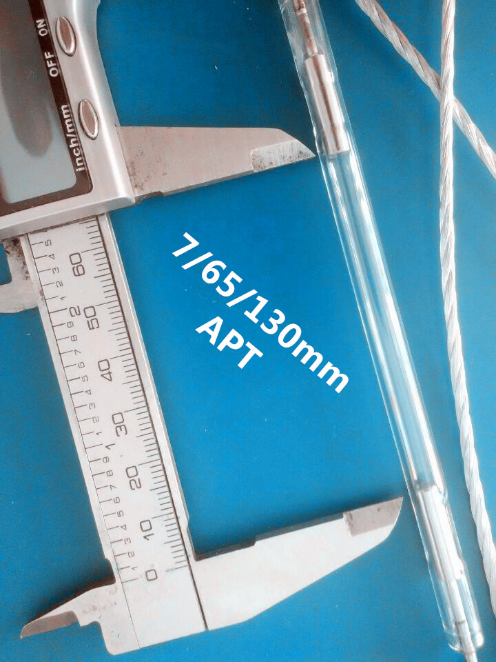 7x65x130mm ipl lamp/ ipl xenon lamp