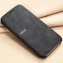 X-уровень кожаный чехол для телефона Samsung Galaxy S7 S7 край Ultra Thin flip full защитная крышка для Samsung S7 S7 край