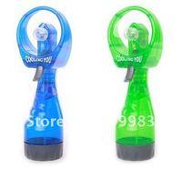 горячая распродажа мини-спрей вентилятор ручной подачи воды вентилятор-зеленый оптовая продажа бесплатная доставка