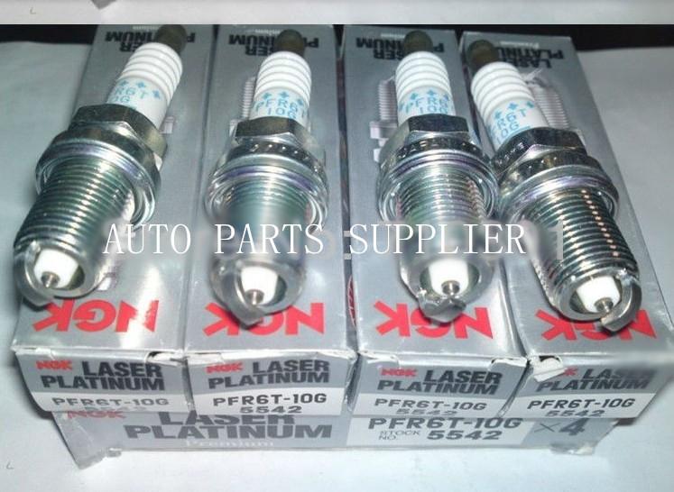 x4 PFR6T-10G SAAB 9-3 MK2 2.0 TURBO 210BHP 05//02- NGK Laser Platinum Spark Plugs 5542