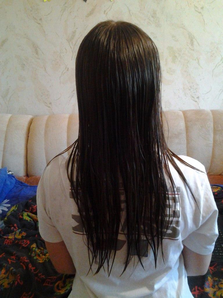 волосы липкие слипаються сухие