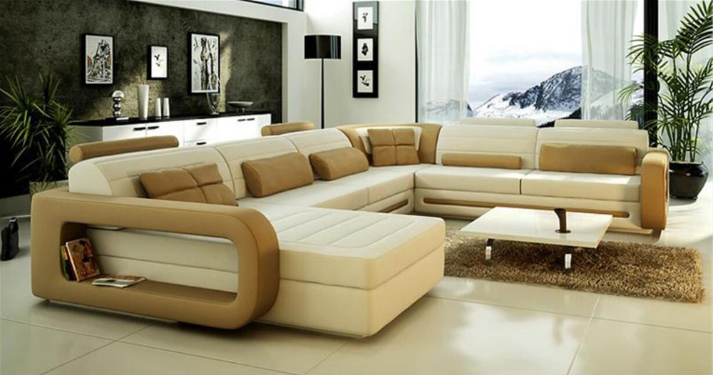 contemporary leather living room furniture modern leather sofa sets living room 0414 8805 in living 20474