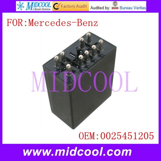 MIDCOOL New Auto Fuel Pump Relay OE NO. 0025451205 For Mercedes-Benz 190E