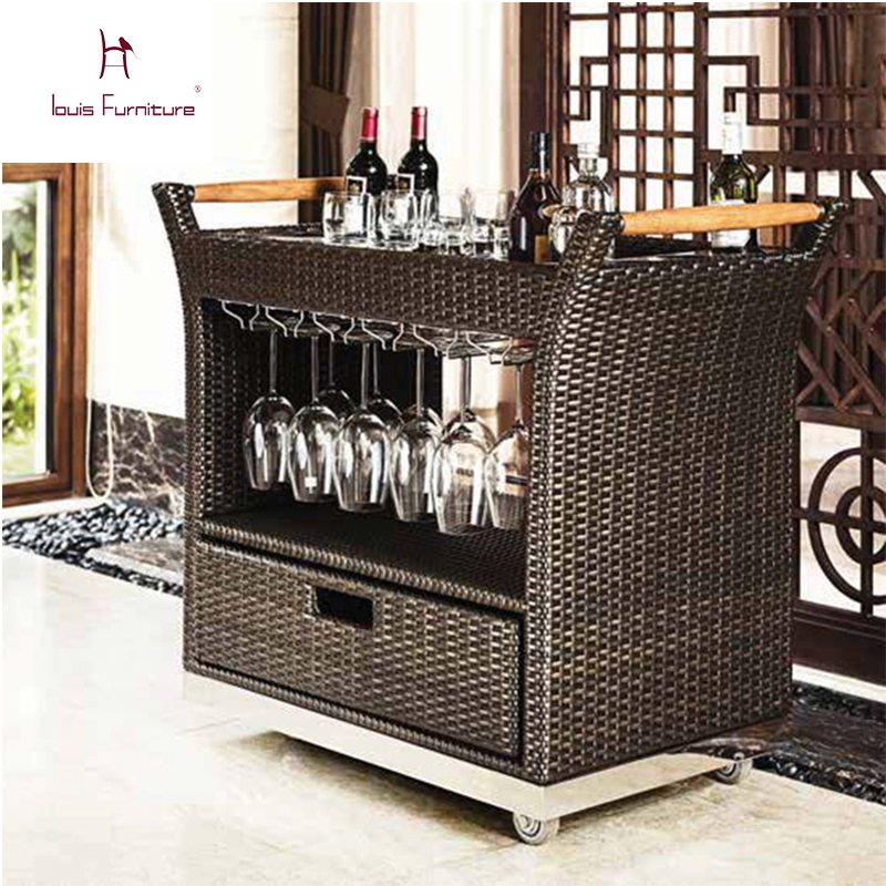 Sun Valley Rattan Paranaque Furniture Vogue Suppliers And: Hotel Rattan Tea Car Fashionable Outdoor Rattan Furniture
