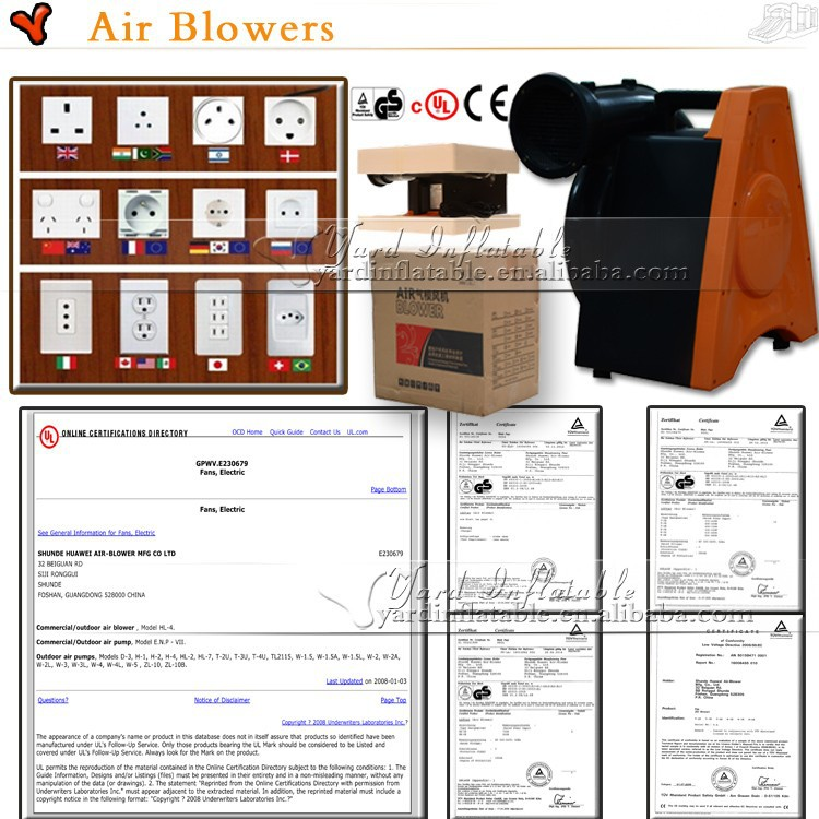 Commerical Air blowers