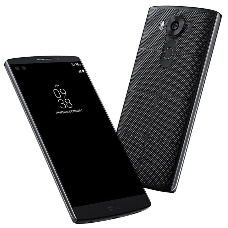 Abierto original lg v10 5.7 ''k 4 gb ram 64 gb rom smartphone hexa-core android 5.1 cámara de 16.0mp lte 4g teléfono móvil