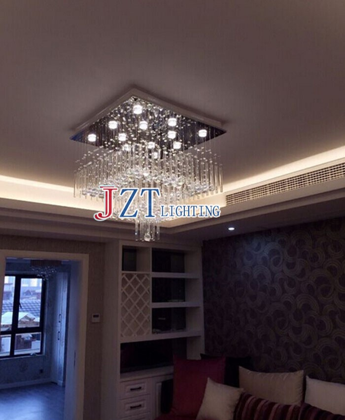 Aliexpress Buy M Best Price Modern Staircase Eropean Art Crystal Chandeliers Lights Fixture Curtain Design For Dining Room Foyer Lamp From Reliable