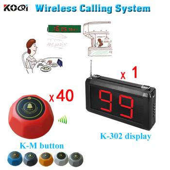 Hot Sell Small Electronic Buzzer Bell Wireless Service Waiter Calling Remote Call Bell System