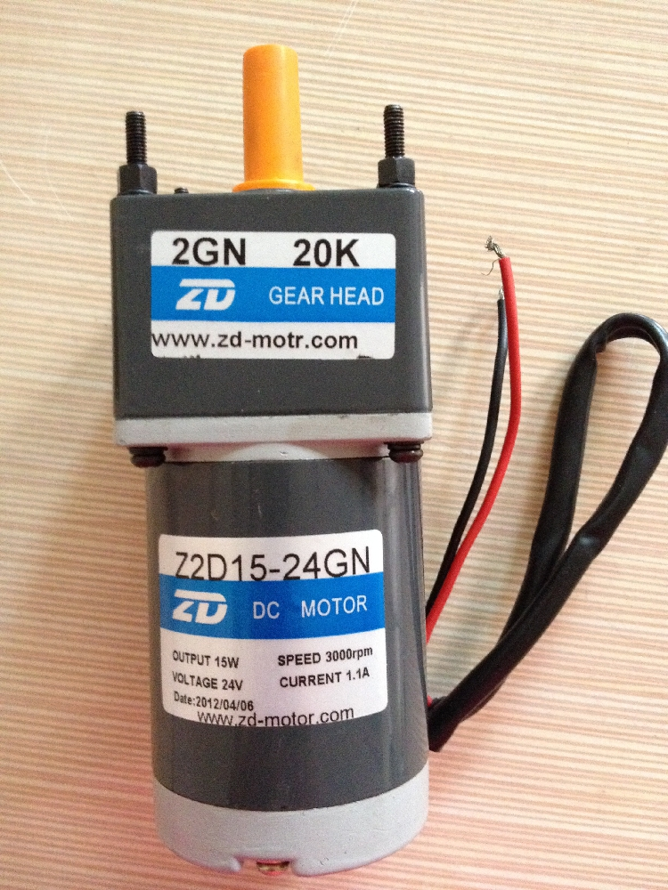 DC Motor 12V Ventilation fan Shutter Dedicated 30W 70mm DC Geared Motor 1800 Rpm Z2D30-12GN-18S speed gearbox reducing  цены