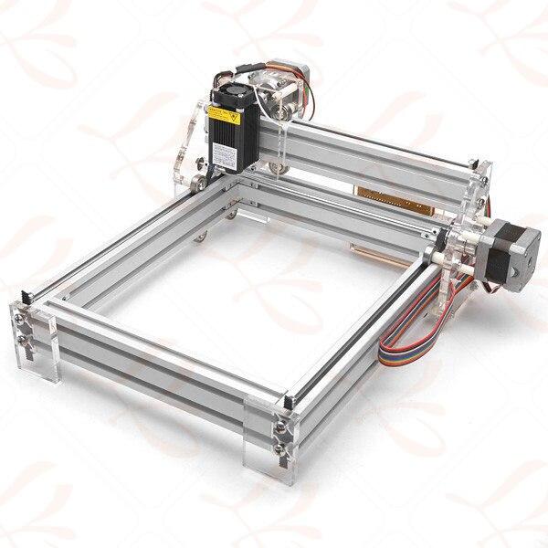 500MW Desktop DIY Violet LY 2017 mini Laser Engraver Picture CNC Printer 20*17CM - 4