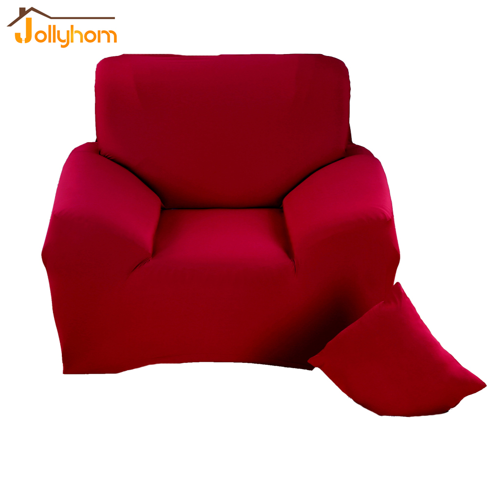 Drawing Room Anti Fouling Solid Color Fabric Couch Covers Polyester Spandex  Slipcovers Washable Sofa Covers 10 Colors-in Sofa Cover From Home & Garden  On