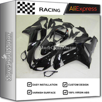 Fairing Kit For Kawasaki ZX6R 2007 2008 07 08 Injection Molding Fairings Black 100 Fitment