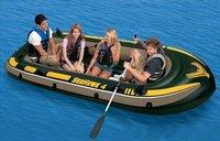 5516 резиновые лодки, надувные, гребной тренажер, каноэ, рыбалка для 4 человек 68351