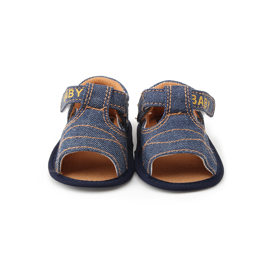 Delebao 2017 New Design Baby Boy Sandals Canvas Cross Soft ...