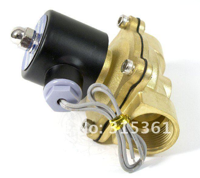 """5 шт. для воды воздуха газа топлива электромагнитный клапан N/C 3/"""" AC220V 2W200-20"""