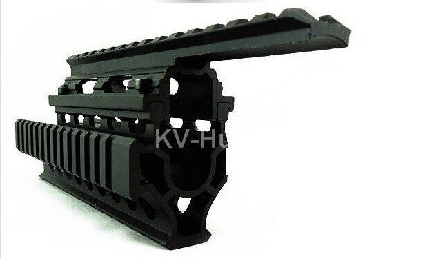 AK Airsoft 47/74 Chasse Tir Jeu de Guerre Paitall Airsoft RIS Quad Rail mount Tactique Quad Rail de Garde-Main