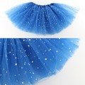 Polyester Candy Colors Girls Kids Tutu Skirt Party Ballet Dance Wear Pettiskirt Costume for 2-7Y