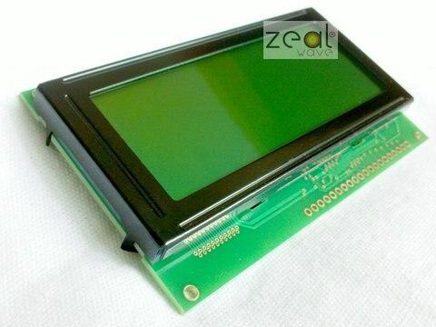 192x64 19264 192*64 Графический матричный ЖК-дисплей модуль желтый и зеленый цвета LED Подсветка KS0108