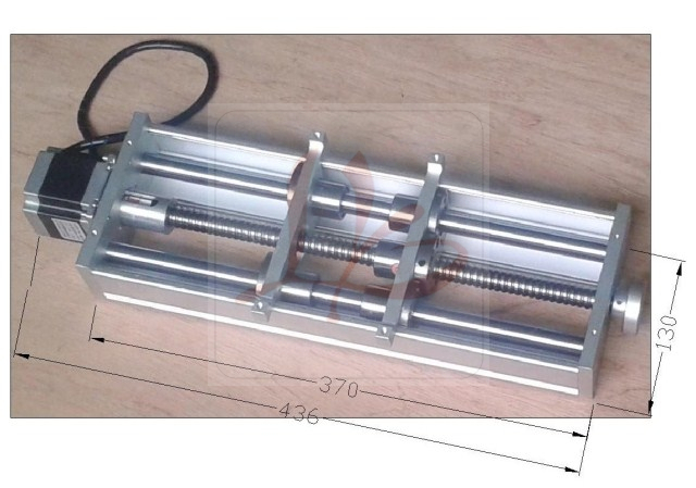 цены  LY A250 linear sliding platform for CNC router engraving machine mini lathe milling machine