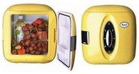 холодильник ББ старший лимон мини компактный холодильник 8 л