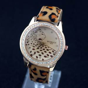 Casual Dress Watches Leopard-Print Hot-Sale Fashion Women Womage Sport A628 New