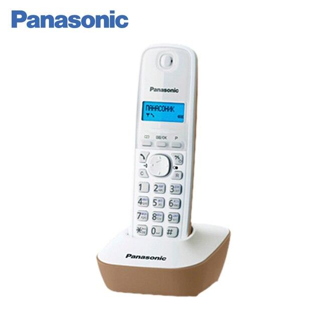 Panasonic KX-TG1611RUJ DECT телефон, русифицированное меню и удобный интерфейс, поддерживает российский определитель номеров АОН и Caller ID, записная книжка на 50 контактов, предусмотрена опция «будильник»