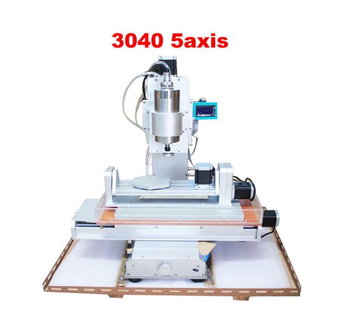 New 3040 5axis CNC engraving machine ball screw table column type woodworking router new arrival cnc 3040 engraving machine 3 axis pillar type cnc machine ball screw table column type woodworking cnc router