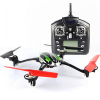 Nueva llegada WL v636 2.4 GHz Radios control quadcopter 6 AXIS Gyro 4 canal RC drone 2.4 GHz UFO RC quadcopter con drone Cámara