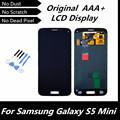 100% Probado Negro Original LCD para Samsung Galaxy Mini S5 Pantalla LCD para G800 G800F con Pantalla Táctil Digitalizador Asamblea