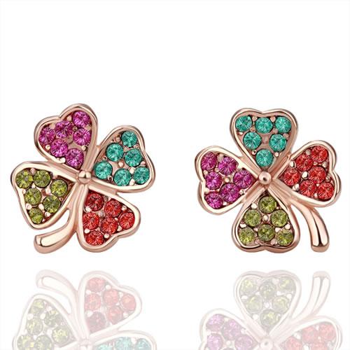 Earrings wedding earrings for women Gold Jewelry Wholesale Prices vi