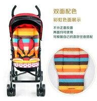 новый produst двухлобной детская коляска коврик ватным тампоном место утолщение buggiest ББ автомобиль зонтик коврик