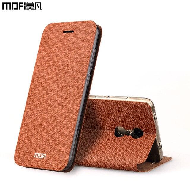 xiaomi redmi note 4x case flip cover iaomi redmi note 4 book stand metal mofi original leather case for redmi note 4x case 5.5