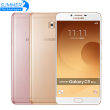 "Original Samsung Galaxy C9 Pro C9000 Mobile Phone Octa core Dual SIM  6"" 6GB RAM 64GB ROM 16MP Android 6.0 Smartphone"