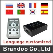3pcs/pack 1 channel CCTV DVR, 64GB sd memory, auto recording, support motion detection, BD-300 from Brandoo