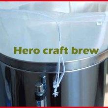 5 галлонов 45*30 см пищевой пивной доморощенный пюре фильтр мешок для пакетного домашнего пивоварения фильтр мешок ведро пивоварения Кухня Бар инструменты