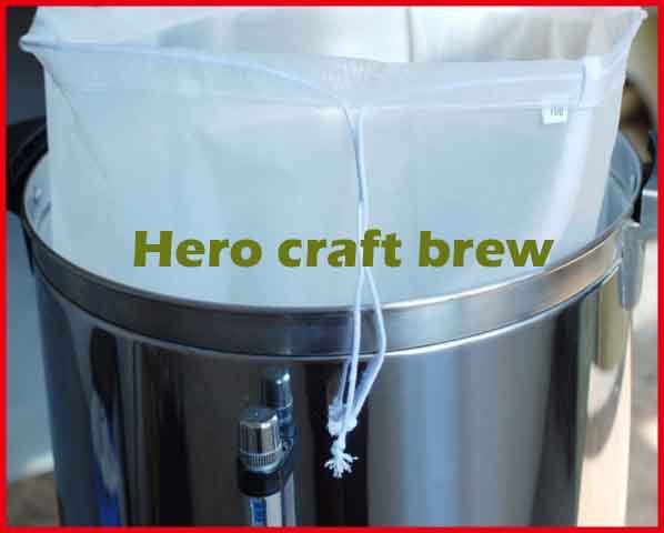 5 Gallon 45 30cm Food Grade Beer Homebrew Mash Filter Bag