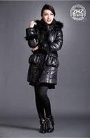 изящные корейский бренд зима водонепроницаемый на открытом воздухе с длинным рукавом мода вниз парки большой размер винтаж ОЕМ с женское пальто 8888