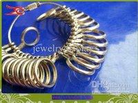 металл палец кольцо сайзер калибр ювелирные изделия размер инструмента 0-13 кольцом рулона в металле