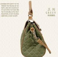 бесплатная доставка! 2015 новый кожаный + искусственная Шао Линг пакет пакет крокодил картина кожи с тиснением переносной мешок