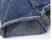 Европа стиль девушка дети верхняя одежда bermuda покроя feminina шорты джинсы / bermuda ребенка полосы бесплатная доставка