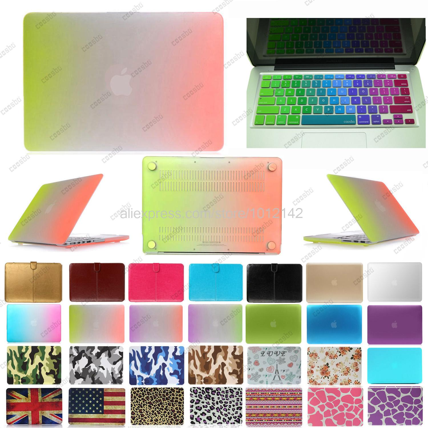 2in1 freeship colorful Hard Case shell For mac Macbook Air Pro Retina 13 15 + Italy Italian Keyboard Skin Cover