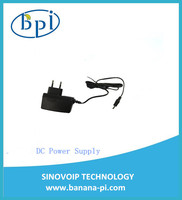 Good quality standard DC Power Supply/Adapter with EU,US plug only for Banana Pi M2 plus  Board