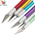 Precision Hobby Knife Stainless Steel Blades for Arts Crafts PCB Repair Leather Films Tools Pen Multi Purpose Razor DIY